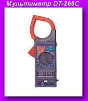 Мультиметр DT-266C,DIGITAL DT-266C цифровой мультиметр токоизмерительные клещи!Опт