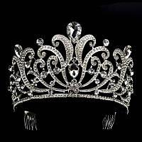 Красивая корона, диадема для волос