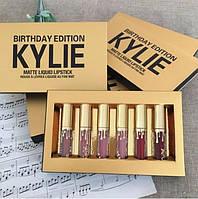 Набор жидких матовых помад Kylie  6 оттенков