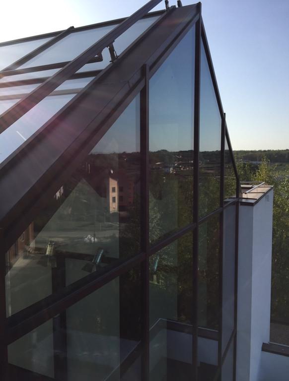 Панорамная крыша  67