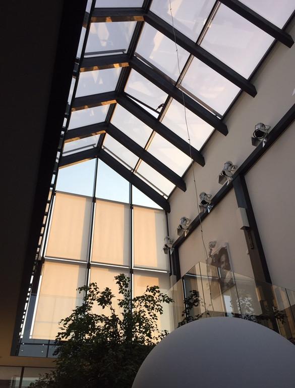 Панорамная крыша
