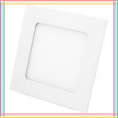 Точечный LED-светильник PL36 6W квадрат, алюминий