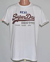 Качественная белая футболка Super Dry (XL) Турция б\у