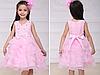 Нарядное пышное платье для девочки коралловое, фото 6