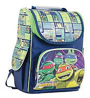 """Рюкзак школьный ортопедический """"1 Вересня"""" Turtles , H-11,"""