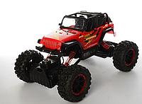 Красный Jeep Wrangler на радиоуправлении