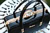 Сумка женская саквояж лаковая модная черная, фото 3