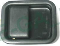 Jeep Wrangler 97-06 ручка двери  черная передняя правая наружная