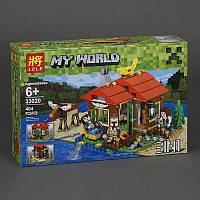 Конструктор Lele Minecraft (404 деталей) серии My World 33020