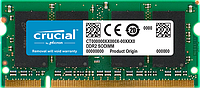 Память SODIMM 2GB DDR2-800 PC2-6400 CL6 Crucial CT25664AC800