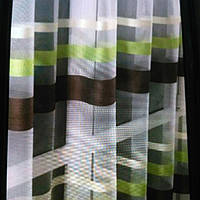 Тюль цветные полосы, фото 1