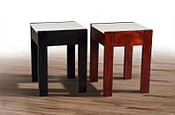 Табурет Слайдер колір венге / крем, темний горіх / крем ТМ Мікс-Меблі, фото 1