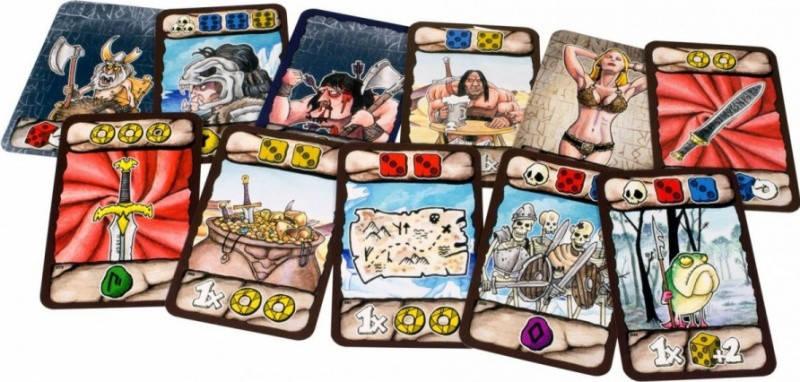 Настольная игра Барбария (Barbaria - Race to Valhalla), фото 2