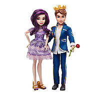Набор из двух кукол Disney Descendants Two-Pack Mal Isle of the Lost and Ben Auradon Prep Dolls!
