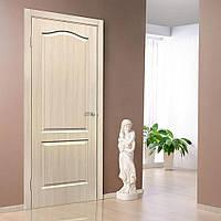 Двери межкомнатные ПВХ Классика ПГ дуб беленый, фото 1