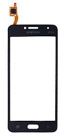 Тачскрин (сенсор) Samsung G532F Galaxy J2 Prime ORIG, black (черный) TESTED