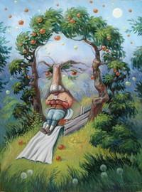 открытки Олега Шупляка