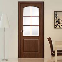 Двери межкомнатные ПВХ Классика СС орех, фото 1