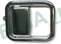 Jeep Wrangler 97-06 ручка двери хром передняя правая наружная