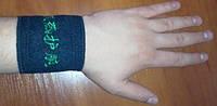 Турмалиновые напульсники, турмалиновые накладки, фото 1