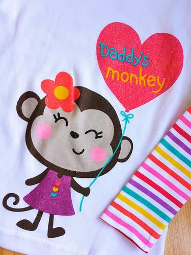 Реглан Jumping Beans с обезьянкой - фото 2