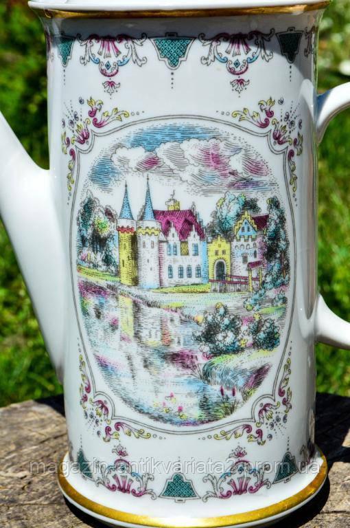 Восхитительный коллекционный чайник,заварник! Жозефина! Чехословакия!