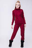 Женский комплект: свитер и брюки