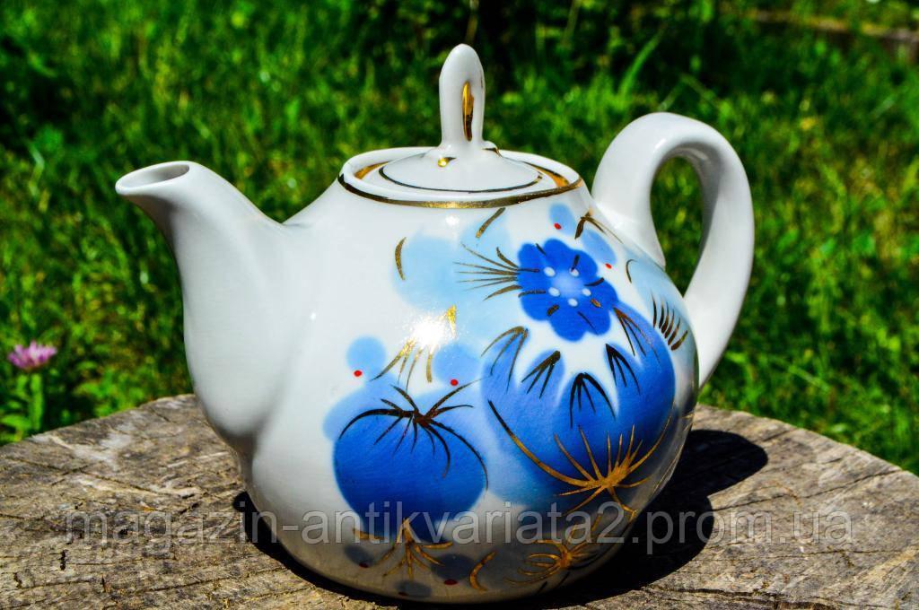 Восхитительный коллекционный чайник,заварник! Городница! СССР!