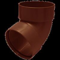 Отвод двухмуфтовый 67 градусов 100 мм Rainway