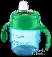 Чашка с мягким носиком и ручками Philips Avent SCF551/00, от 6 месяцев, 200 мл (SCF551/00)