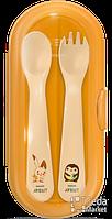 Philips Дорожный набор (вилка+ложка) Avent (SCF718/00)