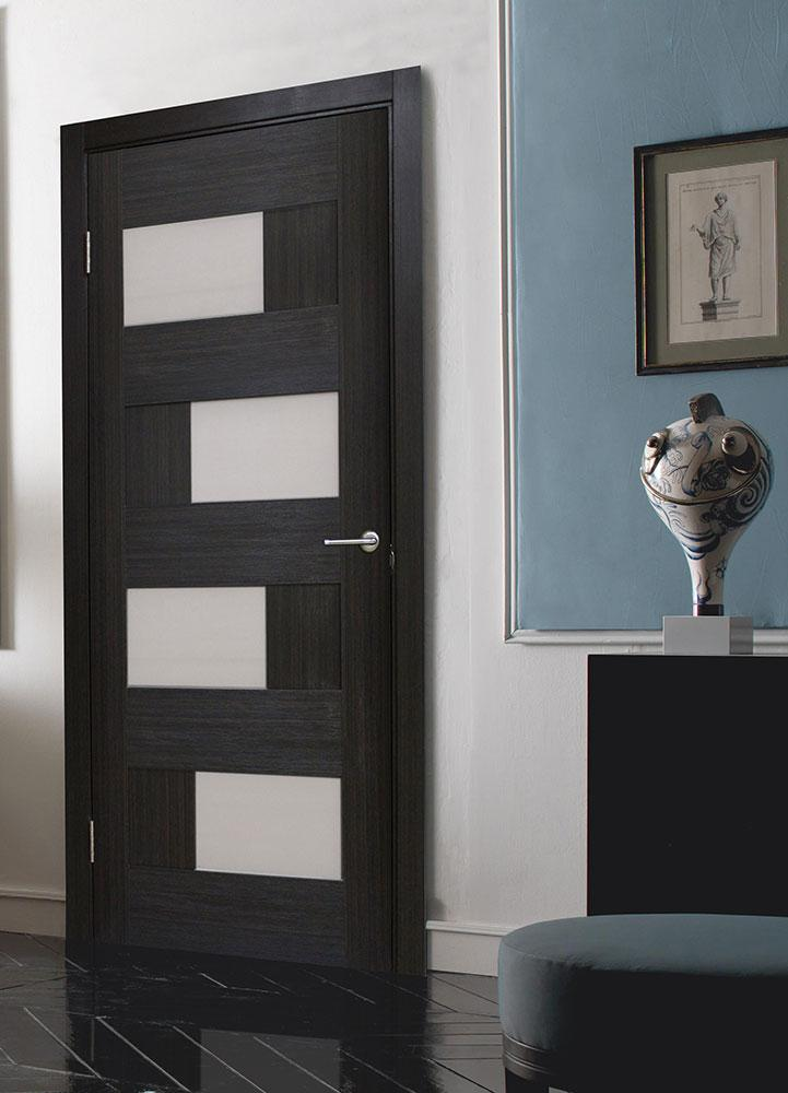 двери межкомнатные со стеклом пвх домино 2 венге продажа цена в