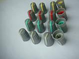 Ручка потенциометра 19x14mm пульта Phonic, Muzon (цветная), фото 4