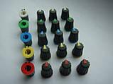 Ручка потенциометра пульта Yamaha MGP16x, Phonic, Muzon (цветная), фото 2