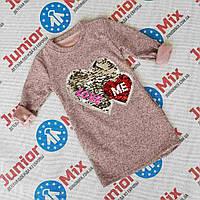 Модная детская туника для девочек оптом  MODA.ИТАЛИЯ