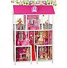 Кукольный домик 66885 Трехэтажный, 5 кукол