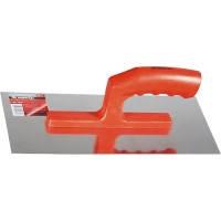 Гладилка из нержавеющей стали, 280 х 130 мм, зеркальная полировка, пластмассовая ручка// MTX