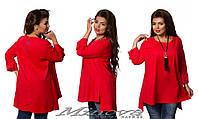 Оригинальная блуза туника для леди большого размера Minova в Украине России (50,52,54,56)