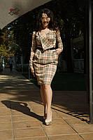 Платье с поясом.барбари   Мод.072  КД