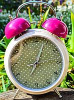 Винтажный будильник,часы!