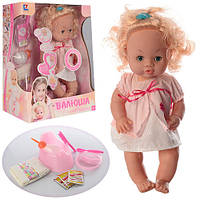 "Детская интерактивная кукла пупс Baby Toby ""Валюша"" (30666-23 B)"
