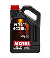 Синтетическое моторное масло Motul 8100 ECO-LITE 5W30