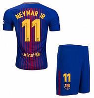 Футбольная форма Барселона Неймар (Neymar JR) 2017-2018 домашняя