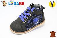 Ботинки демисезонные на мальчиков кожа 19-23 LadaBB