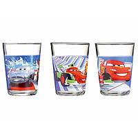 "Набор стаканов стекло  ""Luminarc. Disney Cars 2"" (3 шт) 160 мл 83723 / Н1493"