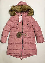 Пальто для дівчаток 4-12 років