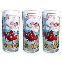 """Набор стаканов стекло """"Luminarc. Disney Nemo"""" (3 шт) 300 мл 15784"""