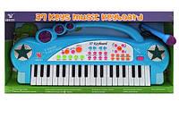Детское пианино синтезатор с микрофоном SD3721