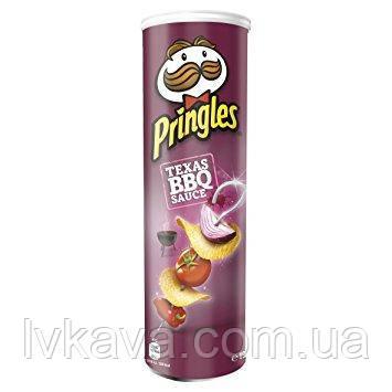 Чипсы  Pringles Texas BBQ Sauce , 165 гр, фото 2