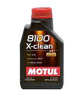 Синтетическое моторное масло Motul 8100 X-CLEAN 5W30